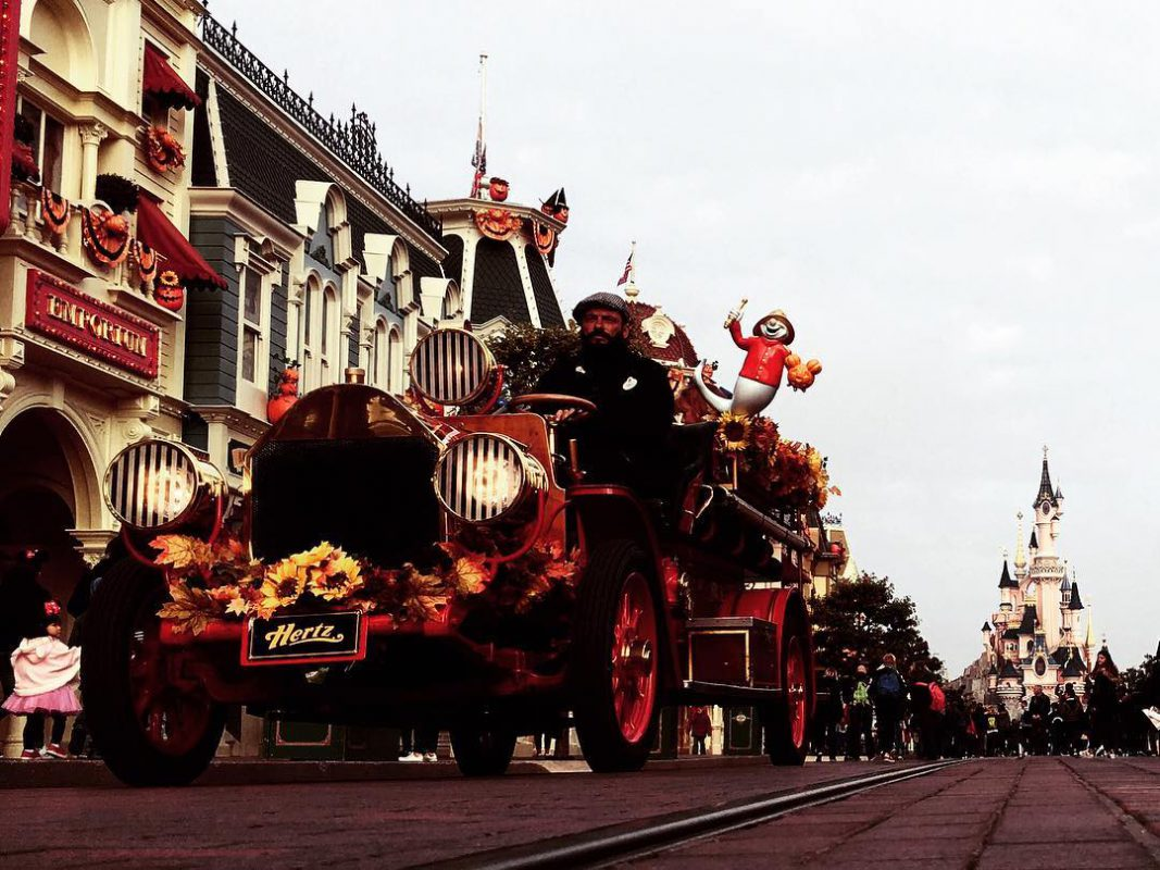 Disneyland, oldfashion foto