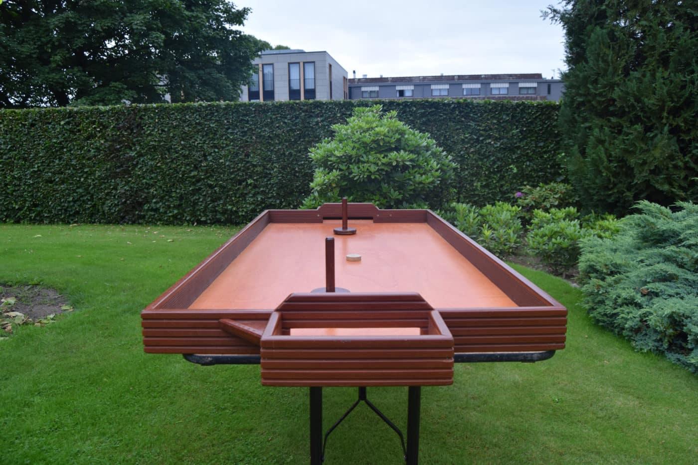 Tafelhockey - Oud Holland spel - vooraanzicht