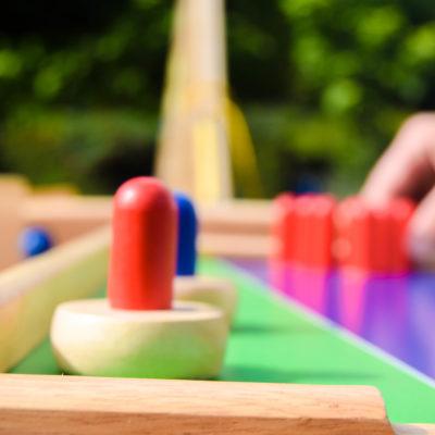 Mini bowling spellen - Oud Hollandse spelletjes